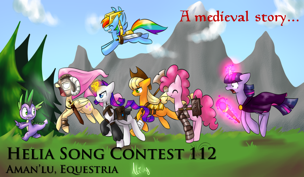 HSC 112 ~ Final ~  Aman'lu, Equestria ~ A medieval story... Picture1