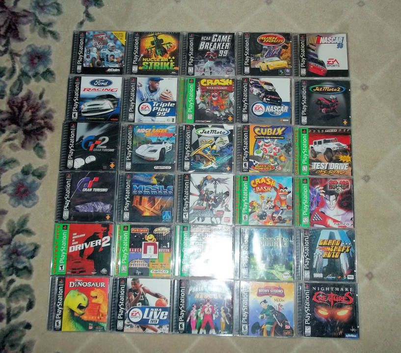 Some of my PSX titles PSX001