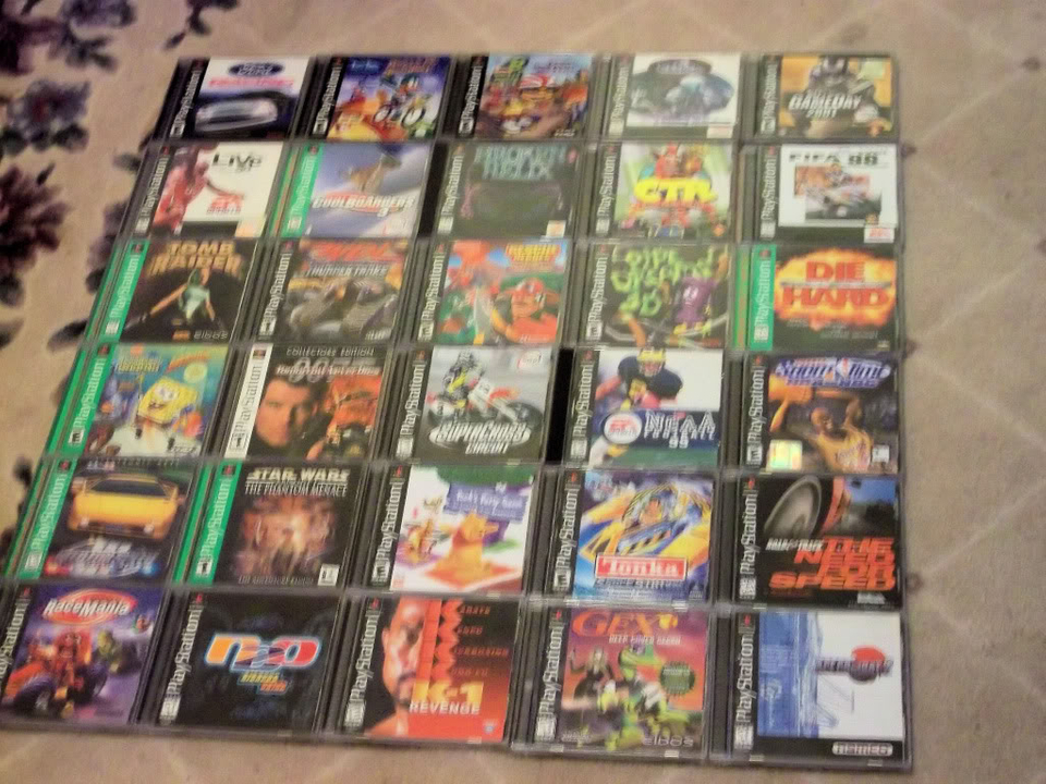 Some of my PSX titles PSX002