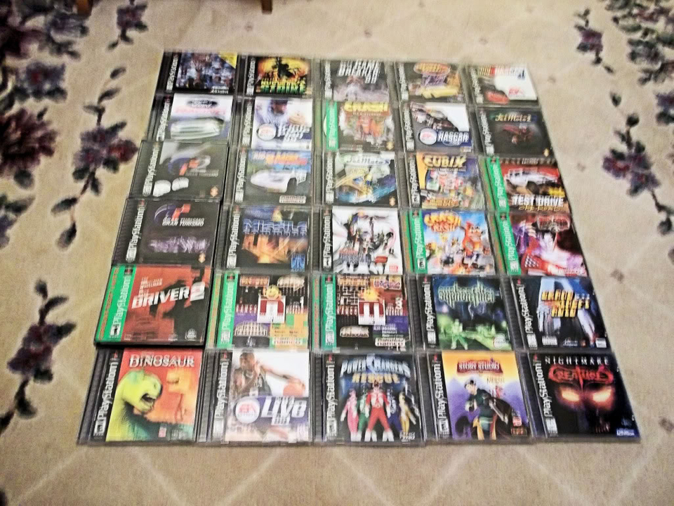 Some of my PSX titles PSX003