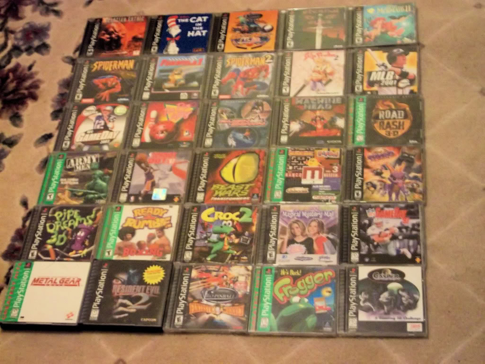 Some of my PSX titles PSX004