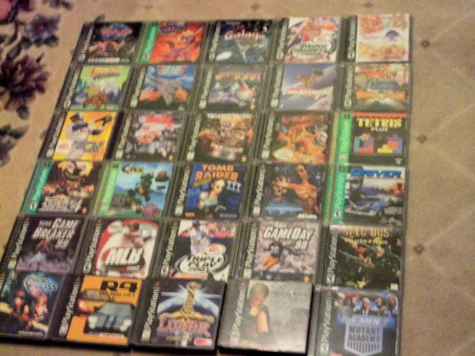 Some of my PSX titles PSX005