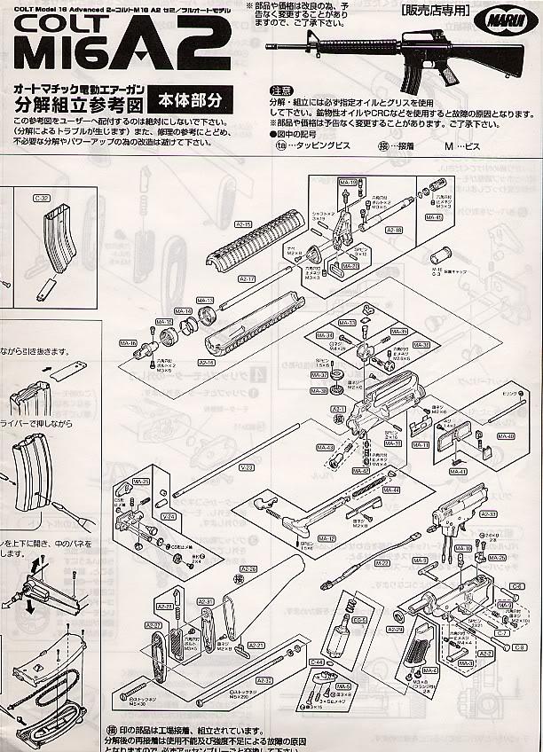 Desmontaje M16 DesmM161
