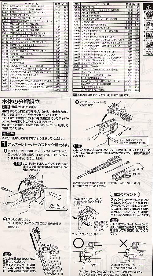 Desmontaje M16 DesmM162