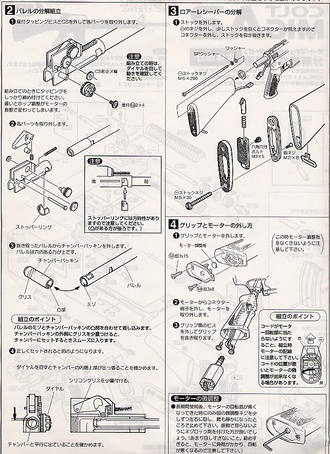 Desmontaje M16 DesmM163