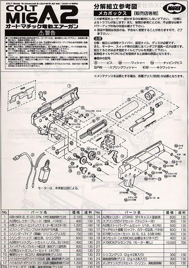 Desmontaje M16 DesmM165