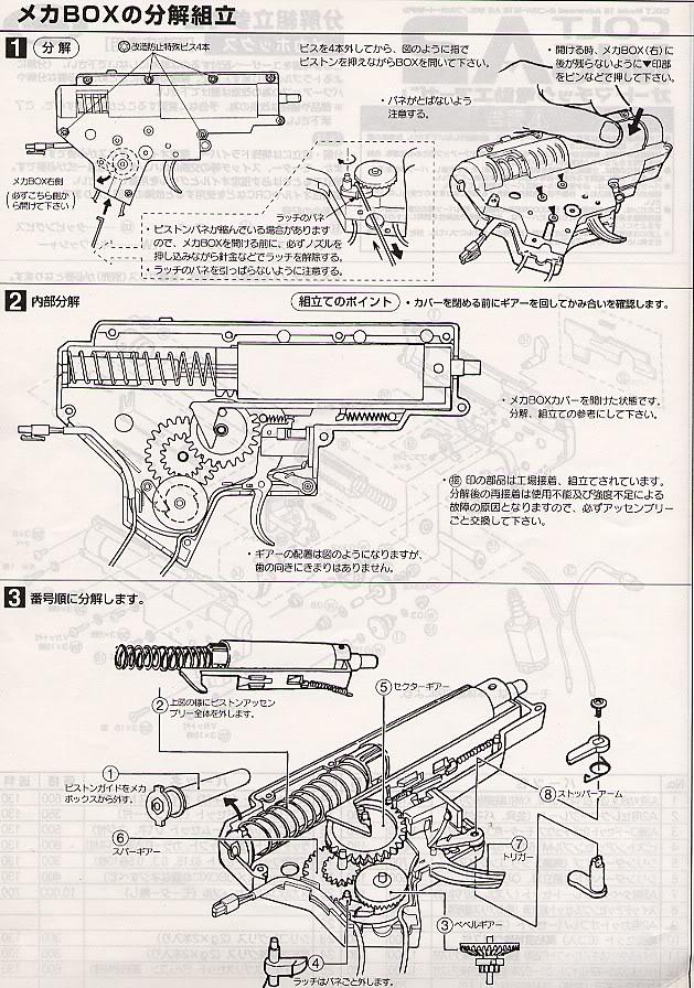 Desmontaje M16 DesmM166