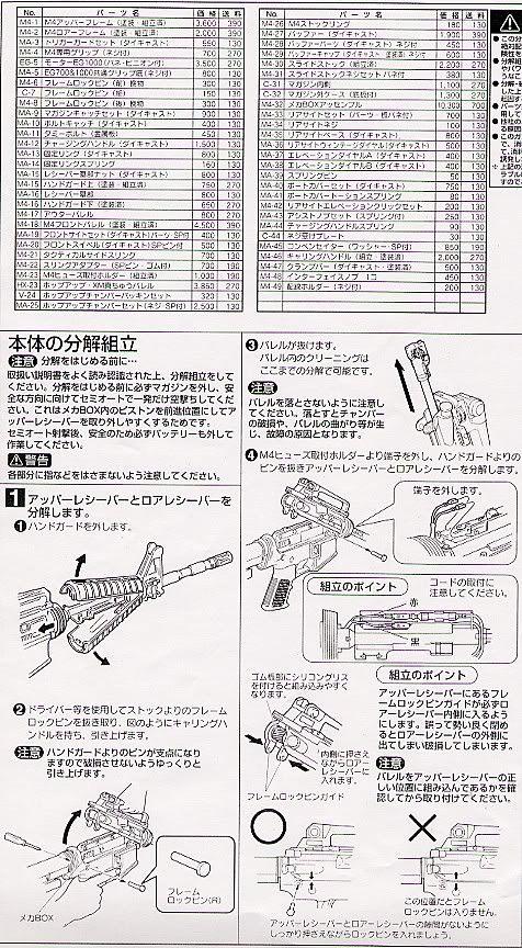 Desmontaje M4 Marui M4_2