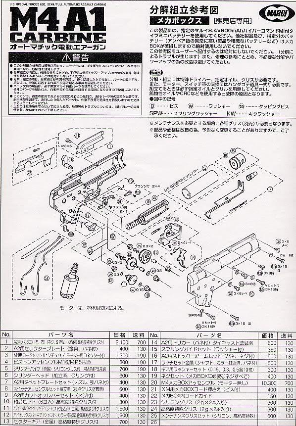 Desmontaje M4 Marui M4_5