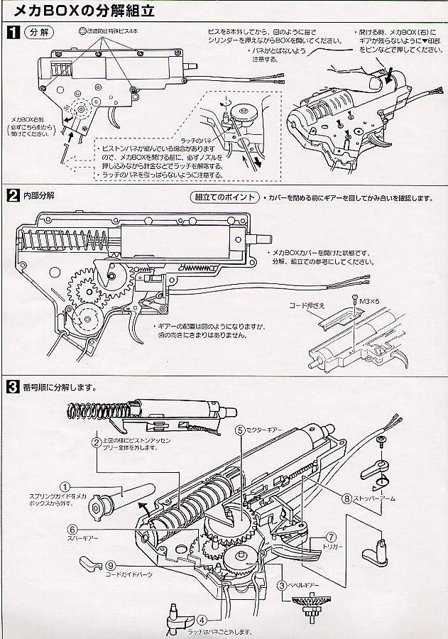Desmontaje M4 Marui M4_8
