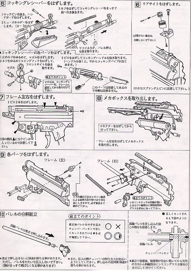 Desmontaje MP5 Marui Mp5_9