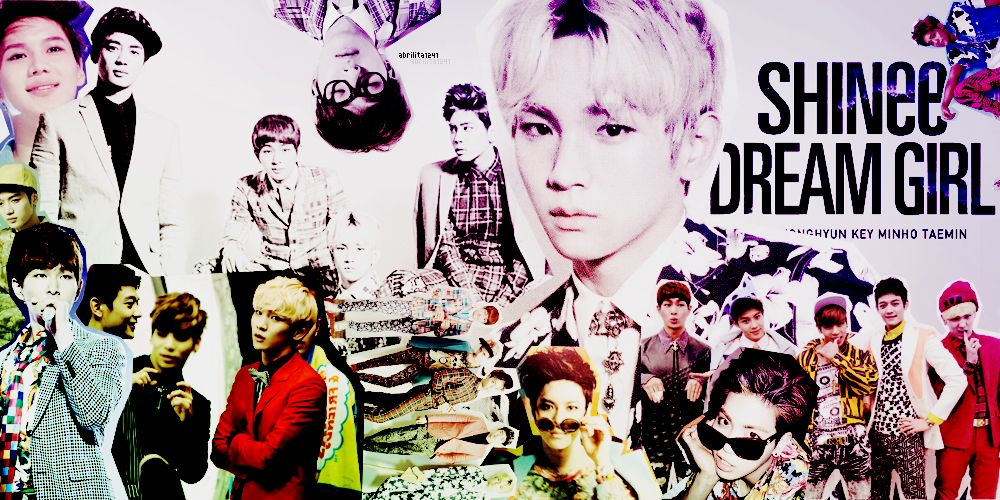 Collage SHINee 'Dream Girl' Shinee5