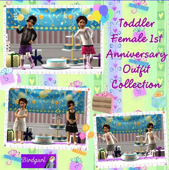 Birdgurl's Sims 2 Creations - Page 3 ToddlerFemale1stAnniversaryOutfitCollectionbanner1
