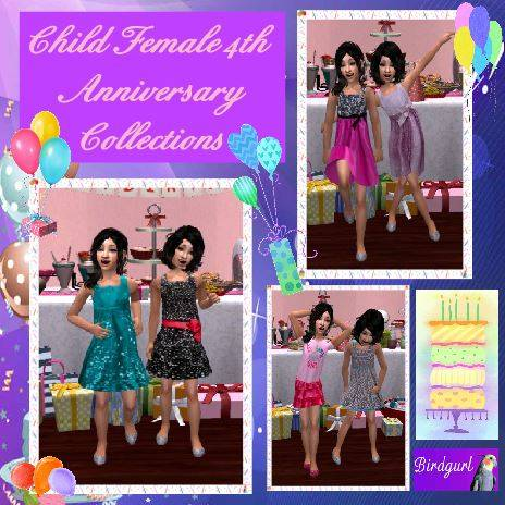 Birdgurl's Sims 2 Creations - Page 9 ChildFemale4thAnniversaryCollectionbanner1_zpsbef07df3