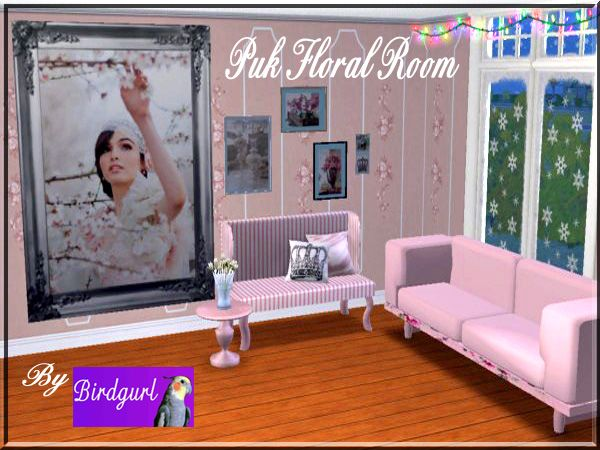 Birdgurl's Sims 2 Creations - Page 9 PinkFloralRoombanner_zps0c4f808a