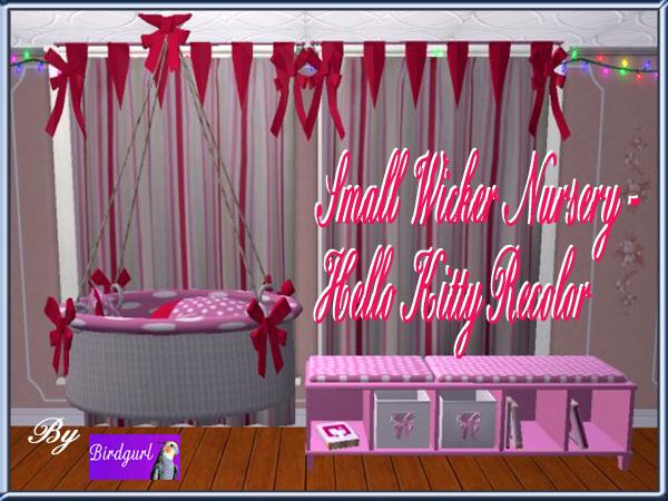 Birdgurl's Sims 2 Creations - Page 9 SmallWickerNursery-HelloKittyRecolorbanner_zpsce3042d1