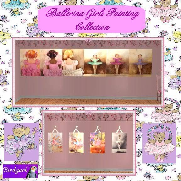 Birdgurl's Sims 2 Creations - Page 3 BallerinaPaintingsCollectionbanner