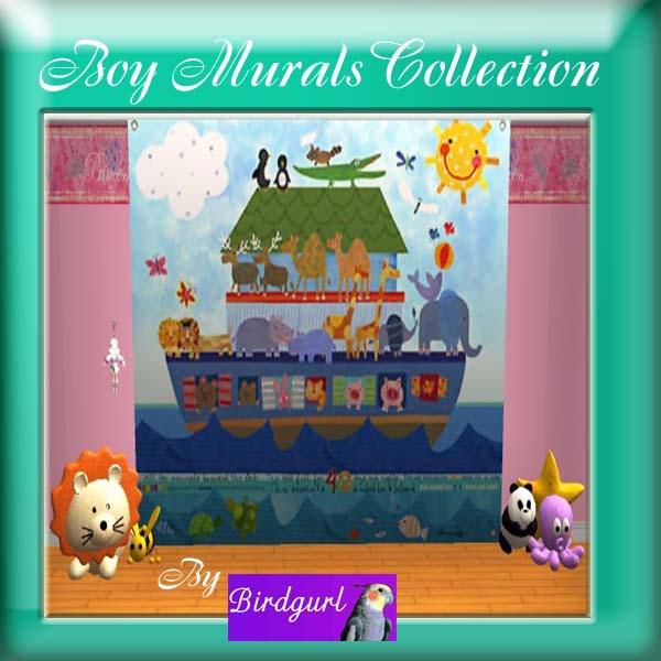 Birdgurl's Sims 2 Creations - Page 2 BoyMuralsCollectionbanner