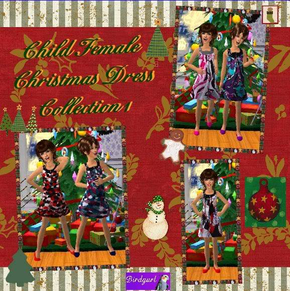 Birdgurl's Sims 2 Creations - Page 2 ChildFemaleChristmasDressCollection1banner