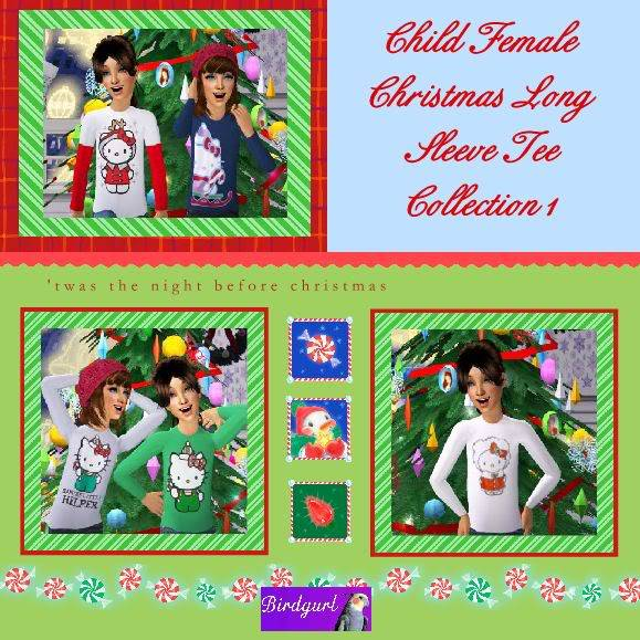 Birdgurl's Sims 2 Creations - Page 2 ChildFemaleChristmasLongSleeveTeeCollection1banner