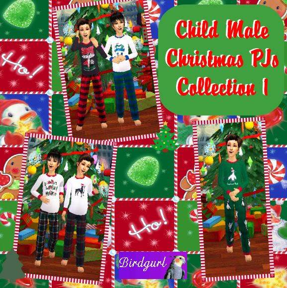 Birdgurl's Sims 2 Creations - Page 2 ChildMaleChristmasPJsCollection1banner