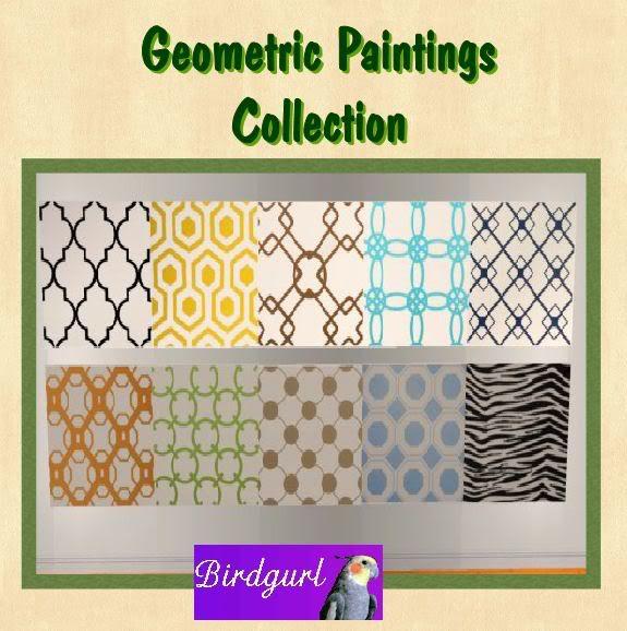 Birdgurl's Sims 2 Creations - Page 3 GeometricPaintingsbanner
