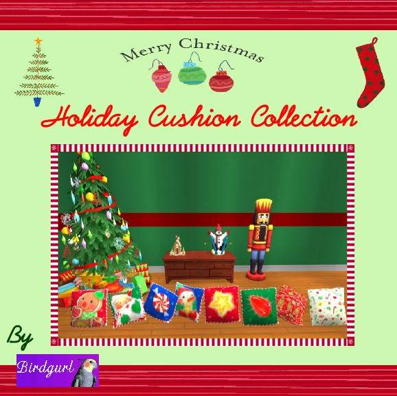 Birdgurl's Sims 2 Creations - Page 2 HolidayCushionCollectionbanner