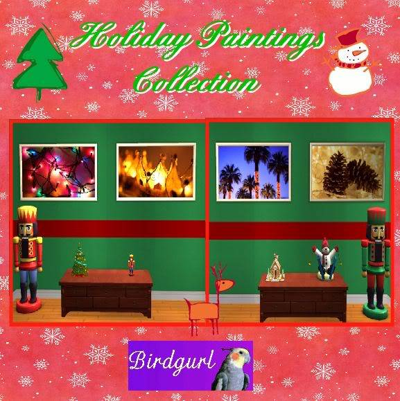 Birdgurl's Sims 2 Creations - Page 2 HolidayPaintingsCollection1banner-1