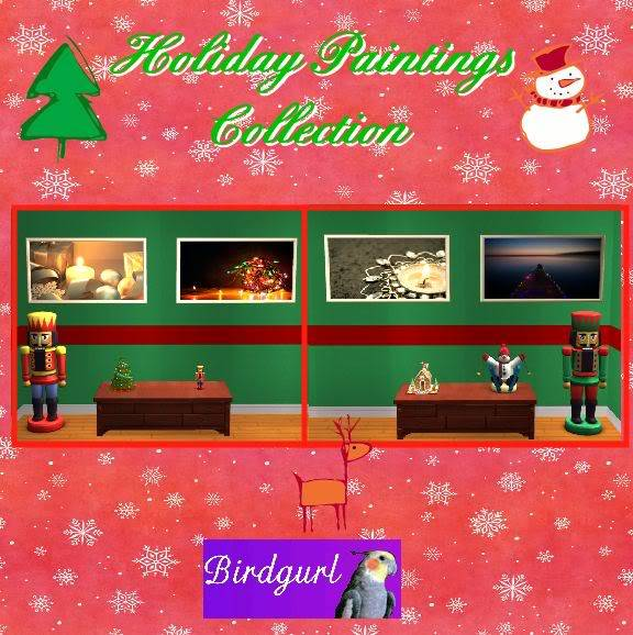 Birdgurl's Sims 2 Creations - Page 2 HolidayPaintingsCollection1banner-2