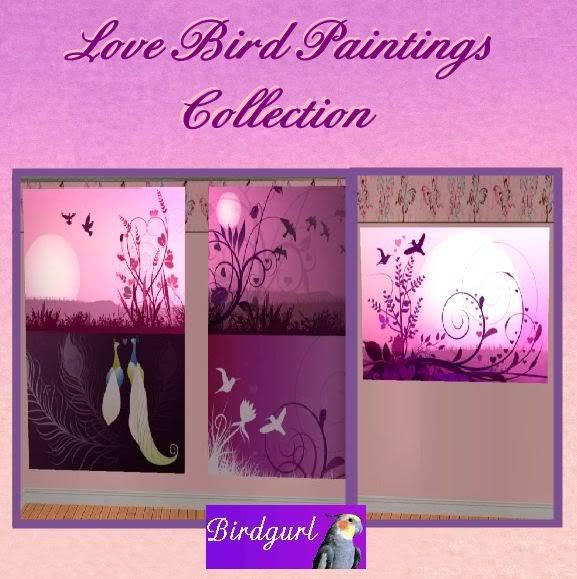 Birdgurl's Sims 2 Creations - Page 3 LoveBirdPaintingsCollectionbanner