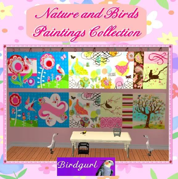 Birdgurl's Sims 2 Creations - Page 3 NatureandBirdsPaintingsbanner1