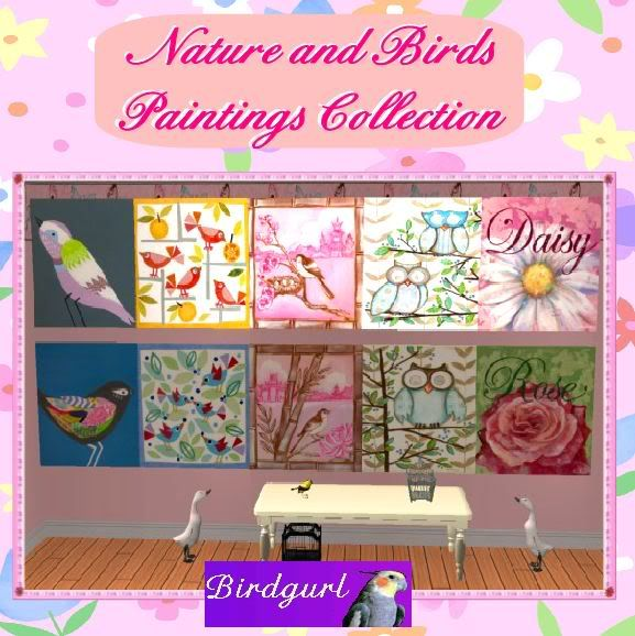 Birdgurl's Sims 2 Creations - Page 3 NatureandBirdsPaintingsbanner2