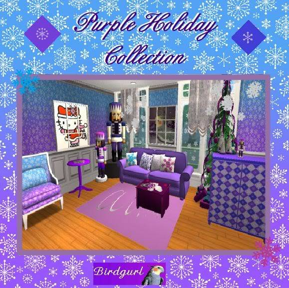 Birdgurl's Sims 2 Creations - Page 2 PurpleHolidayCollectionbanner