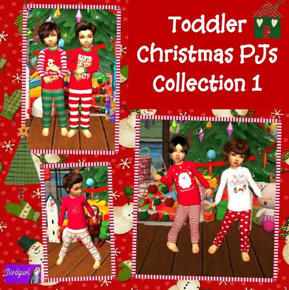 Birdgurl's Sims 2 Creations - Page 2 ToddlerChristmasPJsCollection1banner