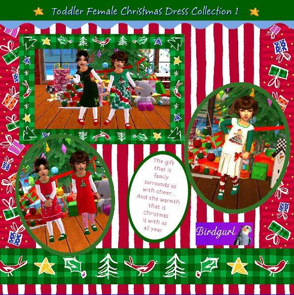 Birdgurl's Sims 2 Creations - Page 2 ToddlerFemaleChristmasDressCollection1banner