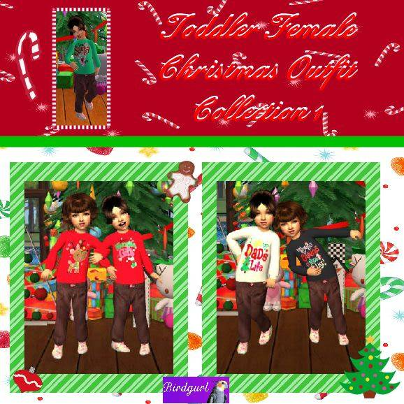 Birdgurl's Sims 2 Creations - Page 2 ToddlerFemaleChristmasOutfitCollection1banner