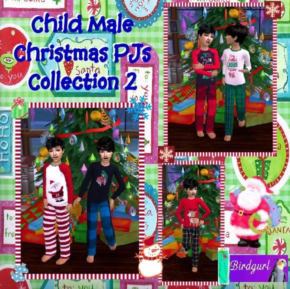 Birdgurl's Sims 2 Creations - Page 6 ChildMaleChristmasPJsCollection2banner
