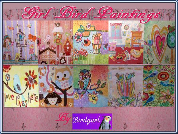 Birdgurl's Sims 2 Creations - Page 6 GirlBirdPaintingbanner_zpsd8dab0fb