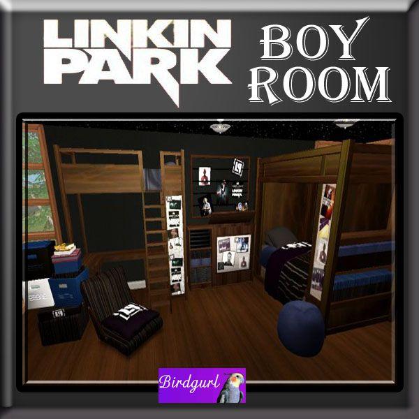 Birdgurl's Sims 2 Creations - Page 6 LinkinParkBoyRoombanner