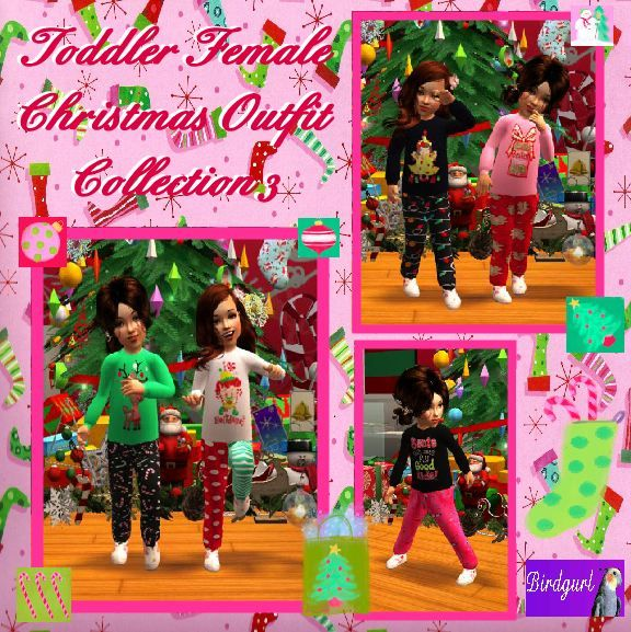 Birdgurl's Sims 2 Creations - Page 6 ToddlerFemaleChristmasOutfitCollection3banner