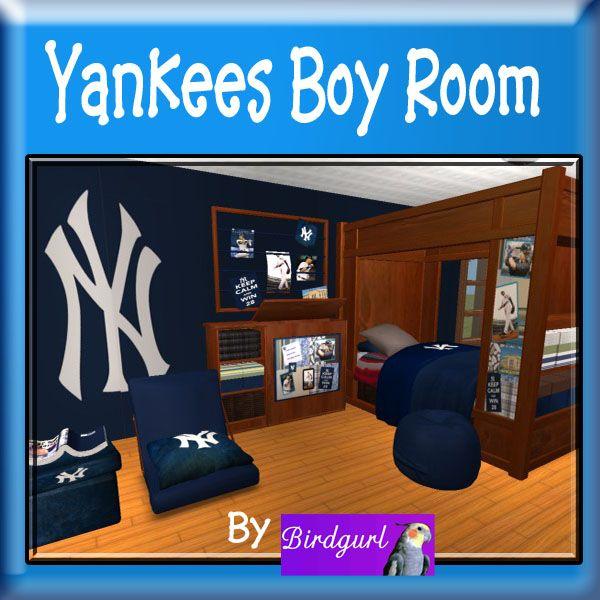 Birdgurl's Sims 2 Creations - Page 6 YankeesBoyRoombanner1