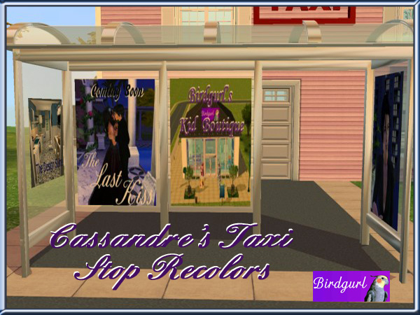 Birdgurl's Sims 2 Creations - Page 8 CassandresTaxiStopRecolorsbanner1_zpsa7f43af4