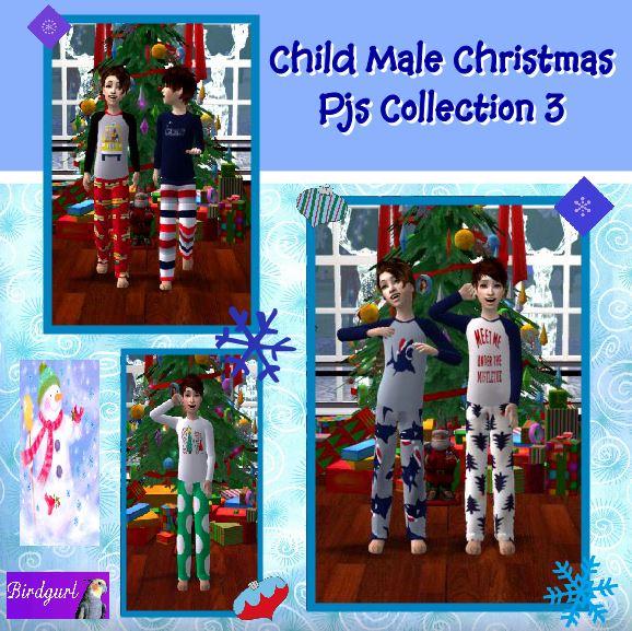 Birdgurl's Sims 2 Creations - Page 8 ChildMaleChristmasPJsCollection3banner_zps930ea378