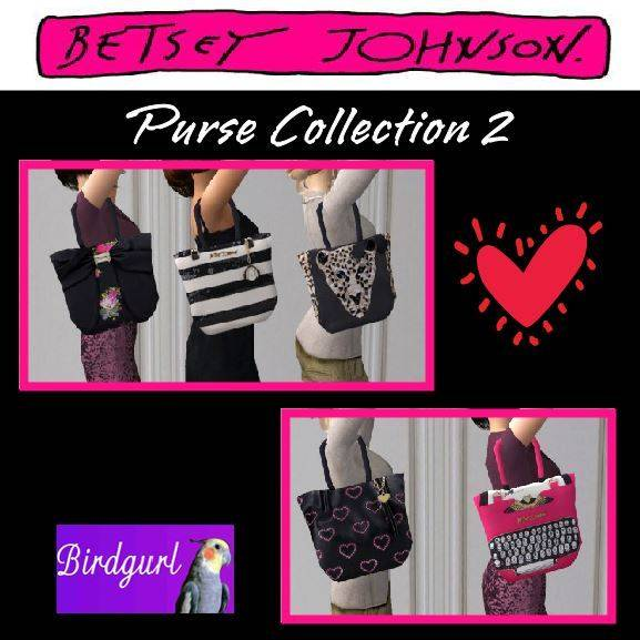 Birdgurl's Sims 2 Creations [Advent Calendar - Dec. 2015] Betsy%20Johnson%20Purse%20Collection%202_zps22n4lhhm