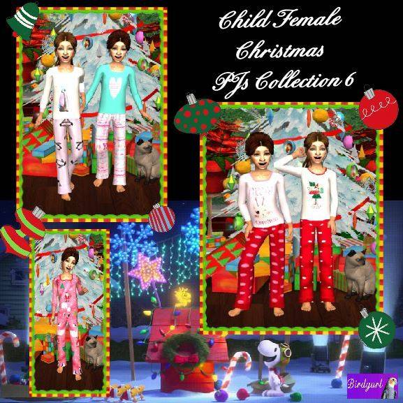 Birdgurl's Sims 2 Creations [Advent Calendar - Dec. 2015] Child%20Female%20Christmas%20PJs%20Collection%206%20banner_zpsbsybrqnk