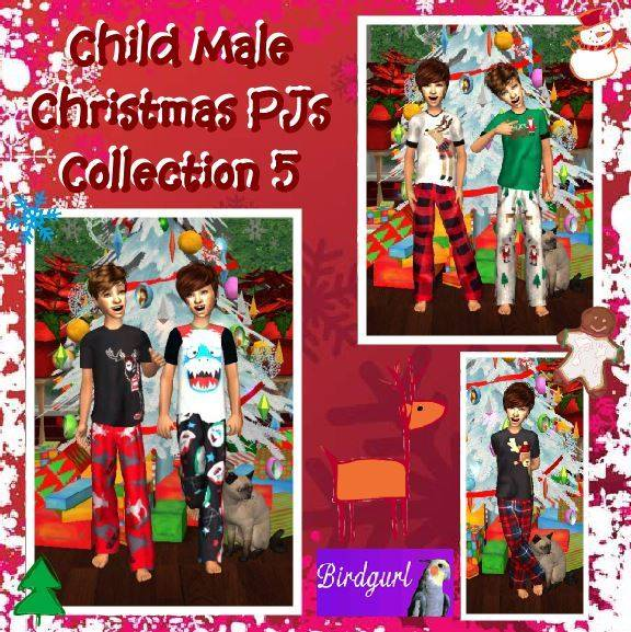 Birdgurl's Sims 2 Creations [Advent Calendar - Dec. 2015] Child%20Male%20Christmas%20PJs%20Collection%205%20banner_zpsrk3bbx7f