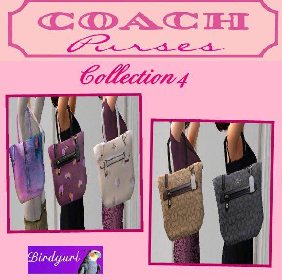 Birdgurl's Sims 2 Creations [Advent Calendar - Dec. 2015] Coach%20Purse%20Collection%204%20banner_zpscuodlvz7
