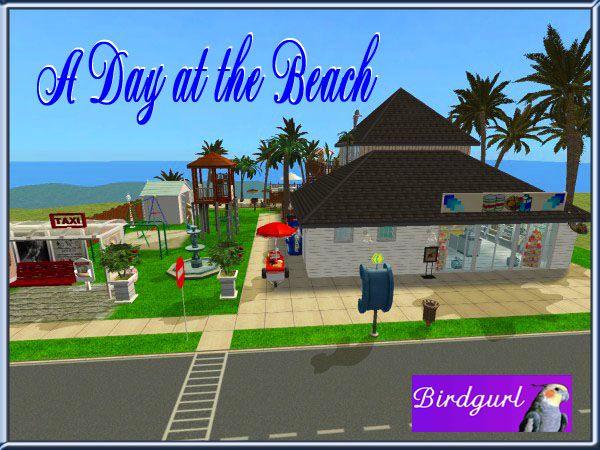 Birdgurl's Sims 2 Creations - Page 5 ADayattheBeachbanner1-1