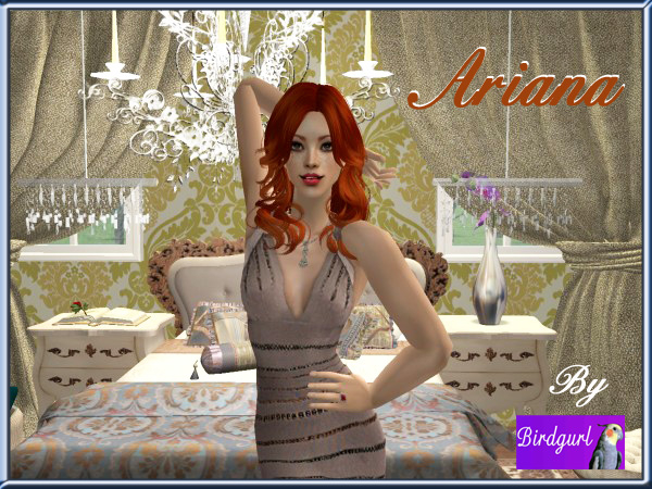 Birdgurl's Sims 2 Creations - Page 7 Arianabanner