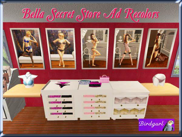 Birdgurl's Sims 2 Creations - Page 5 BellaSecretStoreAdRecolorsbanner1